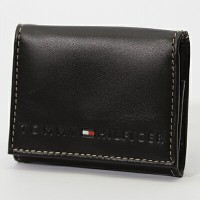 TOMMY HILFIGER/トミーヒルフィガー小銭入れ/コインケース 96 4950 BROWN プレゼント/ギフト/通勤/通学