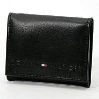 TOMMY HILFIGER/トミーヒルフィガー小銭入れ/コインケース 96 4950 BLACK プレゼント/ギフト/通勤/通学