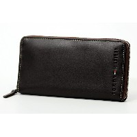 TOMMY HILFIGER/トミーヒルフィガーラウンドファスナー長財布/サイフ 91 4909 BROWN プレゼント/ギフト/通勤/通学