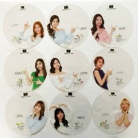 TWICE x Nature Collection Cosmetic Multi Shop Promotional Official Clear Fan Full Set (9pcs)