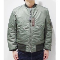 BUZZ RICKSON'S バズリクソンズ JACKET,FLYONG,INTERMEDIATE Type MA-1『MA-1 SLENDERORIGINAL SPEC.』【ミリタリー・フライト...