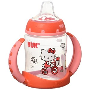 NUK Hello Kitty Silicone Spout Learner Cup - 5 Ounce by NUK