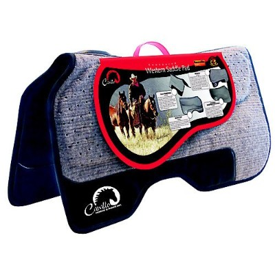 Cavallo Horse & Rider All Purpose Performance Enhanced Western Saddle Pad by Cavallo Horse & Rider