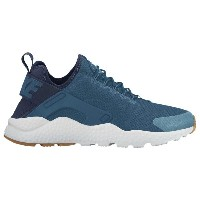 ナイキ レディース シューズ・靴 スニーカー【Nike Air Huarache Run Ultra】Industrial Blue/Midnight Navy/White/Gum/Yellow