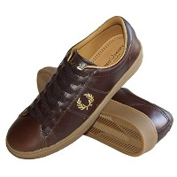 【FRED PERRY 】【フレッドペリー】 Spencer Leather Shoe スペンサー レザー シューズ B5248-325 DARK CHOCOLATE(27.0cm)