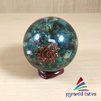 Pre-Christmas Sale! Green Aventurine Orgone Ball Natural Gemstone Orgonite Stone Size - 2-2.5...