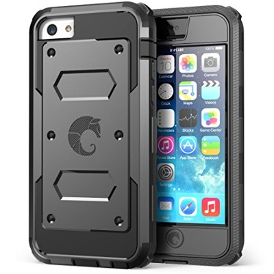 i-Blason Armorbox for Apple iPhone 5C Dual Layer Hybrid Protective Case with Built-in Screen...