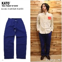【KATO' DENIM/カトーデニム】BASIC PAINTER PANTS