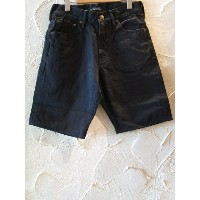 (SALE30%OFF) SOFTMACHINE(ソフトマシーン)/LIFE SHORTS BLK DENIM