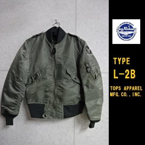 "Buzz Rickson's★TYPE L-2B""TOPS APPAREL MFG.CO.,INC.""フライトジャケットBR11132バズリクソンズJACKET,FLYING,LIGHT"
