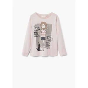 【SALE 30%OFF】Tシャツ .-- DOLLS (パステルピンク)