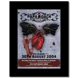 PAPA ROACH - Getting Away With Murder Mini Poster - 28.5x21cm