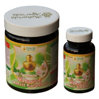 AMRIT KALASH MAK 4 & 5 Combo Pak - Herbal Fruit Concentrate 600g + Ambrosia 500mg 60 Tablets