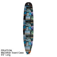 "FRUITION マイクロファイバー ボードケースMICOFIBER BOARD CASE 9'6"" LONG (C-SURF PHOTO COLOR)ロングボード サーフィン サーフボード..."