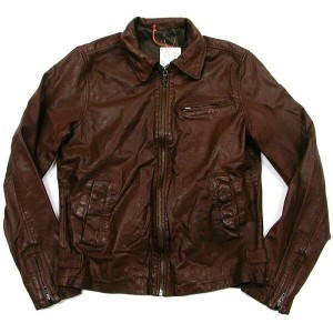 Nudie Jeans(ヌーディー・ジーンズ) ERVIN Leather Jacket 革ジャケット