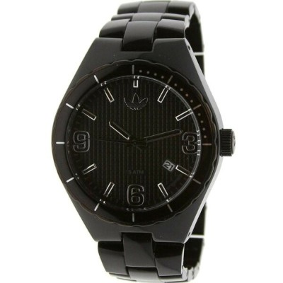 アディダス メンズ 腕時計【Adidas Cambridge Nylon Watch】black / clear