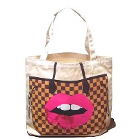 My Other Bag マイアザーバッグ リップ LONDON KISS トートバッグ 布製 アメリカ製 正規輸入品