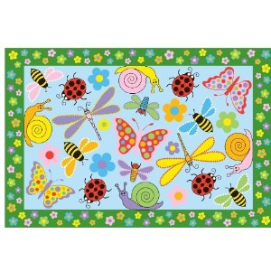 Fun Time Exotic Creatures Rug - 3.2 x 4.8 ft. by LA Rug
