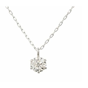 One&Only Jewellery 【鑑定書付】 0.25ct SIクラス Jカラー GOODカット K18WG 18金 ホワイトゴールド ネックレス ペンダント