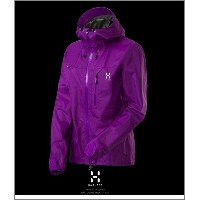 HAGLOFS LIM2 Q Jacket Woman purple ホグロフス正規品