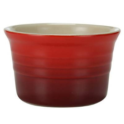 Le Creuset [ ル・クルーゼ ] ラムカン(S)4個セット Cherry Red チェリーレッド Le Creuset [ ル・クルーゼ ] 新生活 [並行輸入品]