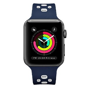 EloBeth Apple Watch /Apple Watch 2バンド シリカゲルバンド アップルウォッチ New Apple iWatch Series 3 /Series 2 /...