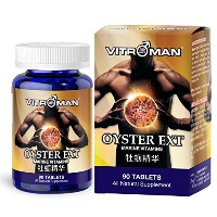 Vitroman Oyster Ext Male Performance Pills - Potent Vitamins Testosterone Booster for Muscle...