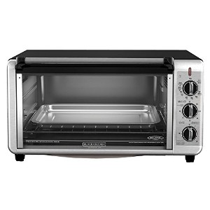 BLACK+DECKER TO3260XSBD 8-Slice Extra-Wide Toaster Oven, 13x9-Inch. by BLACK+DECKER