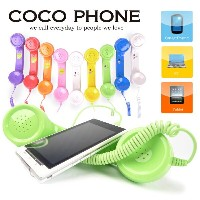 iPhone7・Plus iPhone6・Plus・iPhone5・スマホ・ガラケー・PC・Skype(スカイプ) LINE(ライン)・対応 COCO Phone・RETRO HAND SET...