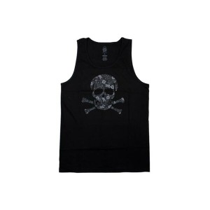 SSUR TANK TOP (Khokhloma Controlled Substance: Black)サー/タンクトップ/黒