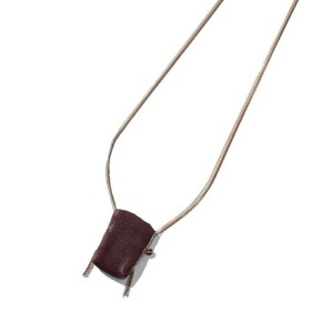 ★dポイントが貯まる★【SHIPS OUTLET(シップス アウトレット)】【liflattie ships】5 OCTOBRE:LEATHER-PKT NECKLACE【dポイントでお得に購入】