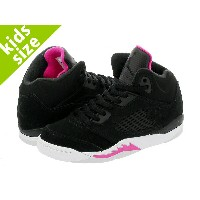 【キッズサイズ】【16-22cm】 NIKE AIR JORDAN 5 RETRO GP 【DEADLY PINK】 ナイキ エア ジョーダン 5 レトロ GP BLACK/DEADLY PINK...