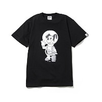 (ビリオネア ボーイズ クラブ)BILLIONAIRE BOYS CLUB MICKEY MOUSE ASTRONAUT T-SHIRT #1 (JP EXCLUSIVE) Disney Tシャツ...