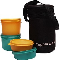 TP-990-T186 Tupperware Executive Lunch (Including Bag) With Small Bowls and Large Bowls allows you...