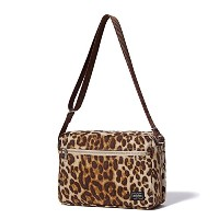 (ヘッド・ポーター) HEADPORTER LEOPARD SHOULDER BAG (L) LEOPARD