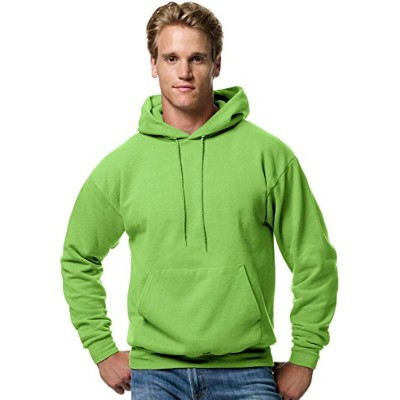 Hanes P170 Comfort Blend Ecosmart Pullover Hoodie Sweatshirt Size - Large - Lime