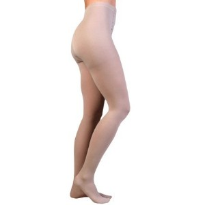 Juzo 2001ATFFOCSH10 II Soft, Pantyhose,Full Foot, Short Open Crotch - Black by Juzo