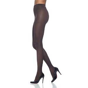 Sigvaris Soft Opaque 841PLLO99 15-20mmHg Open Toe, Pantyhose Large Long Women, Black by Sigvaris