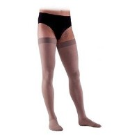 Sigvaris Access 973NLLM99 30-40 mmHg Mens Closed Toe Thigh Highs, Black, Large-Long by Sigvaris