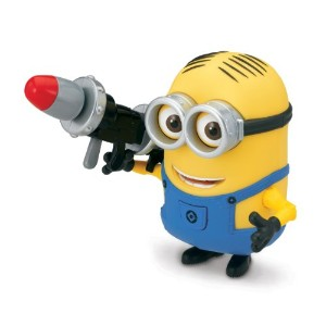 Despicable Me 2 怪盗グルーのミニオン危機一発 デイブ フィギュア ロケットランチャー Dave Deluxe Action Figure with Rocket Launcher