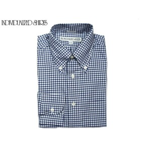 【期間限定30%OFF!】INDIVIDUALIZED SHIRTS(インディビジュアライズド シャツ)/L/S STANDARD FIT B.D. PINPOINT OXFORD GINGHAM...