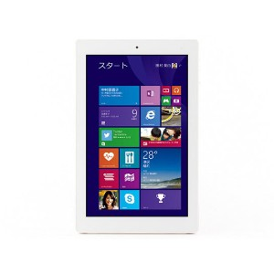 展示品★FRONTIER Windows Tablet 32GB Win8.1 FRT810★8.9型IPS  タブレットPC Officeソフト欠品