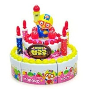 ★ポロロ ケーキのおもちゃ ★Pororo birthday cake ★Pororo happy birthday cake toy (Given sweety)