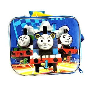 チームThomas The Train EngineキャンバスブルーInsulated Lunchバッグ