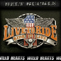 シスキューバックル メタルバックル Belt Buckle Siskyou Metal Buckle Live to Ride/Ride to Live USA WILD HEARTS...