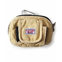CULTURE MART カラビナポーチ POUCH(ベージュ) 100994-3