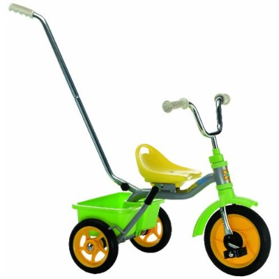 Italtrike 10 Transporter Classic Tricycle, Green/Yellow by Italtrike
