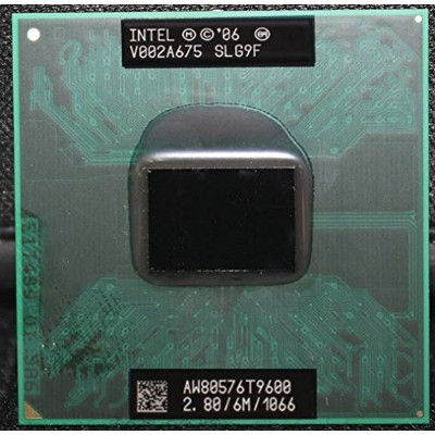 Intel Core 2 Duo Processor T9600 SLG9F CPU (6M Cache, 2.80 GHz, 1066 MHz FSB) Socket P バルク