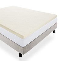 LUCID 3 Ventilated Memory Foam Mattress Topper, Full by Lucidテつョ