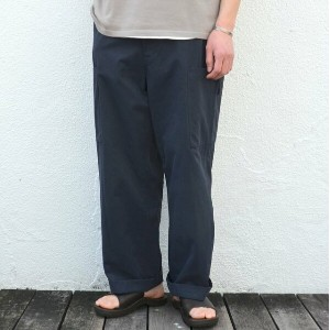 ALLEGE(アレッジ)/ WIDE POCKET PANTS -NAVY-